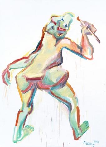 Die Malerin (The Painter)