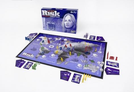 Blockchain Risk Board Game Prototype: Capital Markets Digital Asset Edition