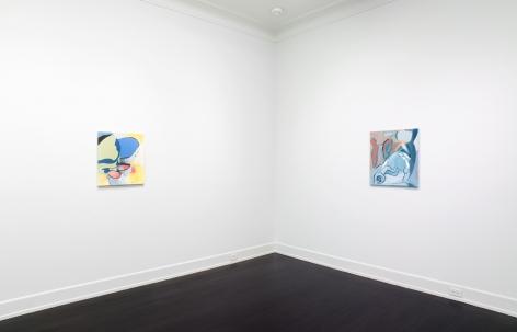 Schleper, Petzel Gallery, 2017, Installation view
