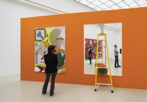 Installation view, Pieter Schoolwerth:No Body Get a Head, Kunstverein Hannover, 2021