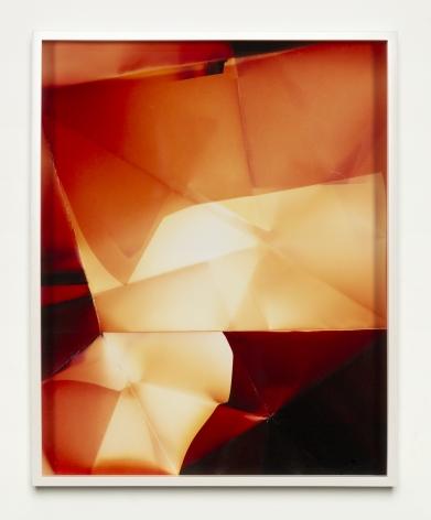 Walead Beshty, Three Sided Picture (MRY), January 11, 2007, Santa Clarita, California, Fujicolor Crystal Archive