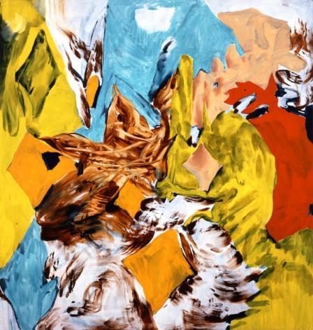 Bluntschli 2005 Acrylic and oil on canvas