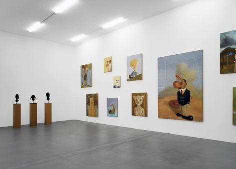 Sean Landers, Kunsthalle Zurich, 2004  Installation view