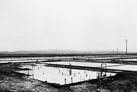 Lewis Baltz NIP #14: Foundation Construction, Many Warehouses, 2892 Kelvin, Irvine
