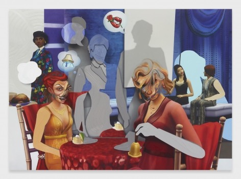 Pieter Schoolwerth, Shifted Sims #14 (Luxury Party Stuff)