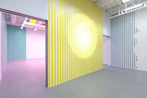Daniel Buren Installation view 3