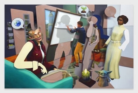 Pieter Schoolwerth, Shifted Sims #9 (Eco Lifestyle)