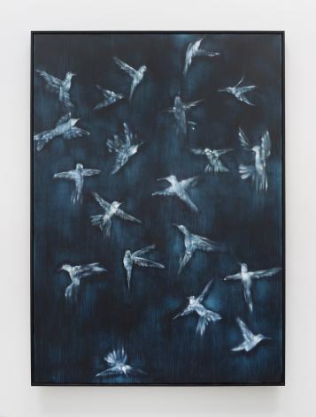 Ross Bleckner, Migration