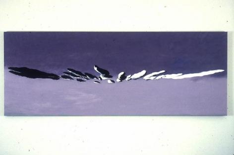 Rrrr 1997 Oil on linen