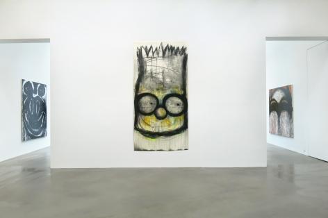 Joyce Pensato: Castaway, Petzel Gallery, 2015  Installation view