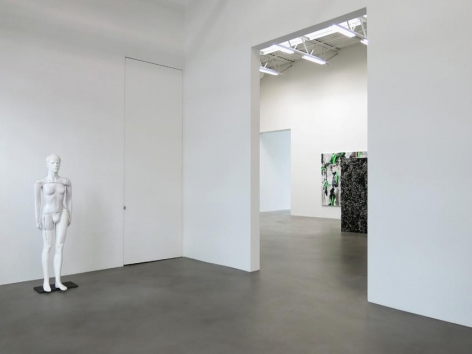 Heimo Zobernig Installation view 1