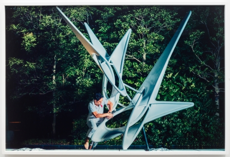 Christian Jankowski, Massage Masters (The Wind Tells)