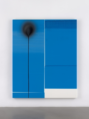 Wade Guyton / Stephen Prina, Wade Guyton, Untitled, 2010, Epson UltraChrome HDX inkjet on linen
