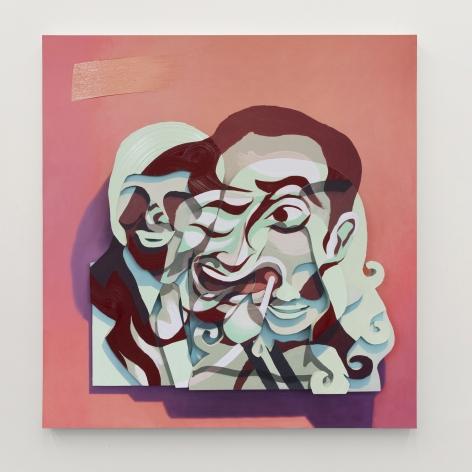 """Pieter Schoolwerth, Lucy & Aaron #4 (""""The Blob"""")"""