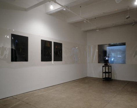 Seth Price, Installation view in gallery