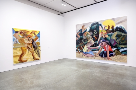 Dana Schutz, Institute of Contemporary Art, Boston, 2017, Installation view