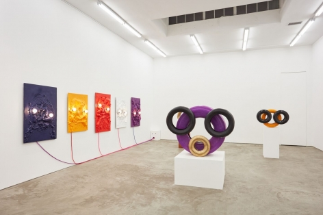American Moses, Nino Mier Gallery. 2018, Installation view