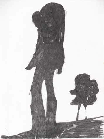 Untitled 2003 Pencil on paper