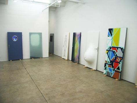 Door Cycle Installation view