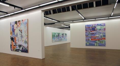 Käthe-Kollwitz-Award exhibition, Akademie der Künste, 2014, Installation view