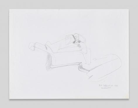 Maria Lassnig, N.Y. Selfportrait Verschachtelt