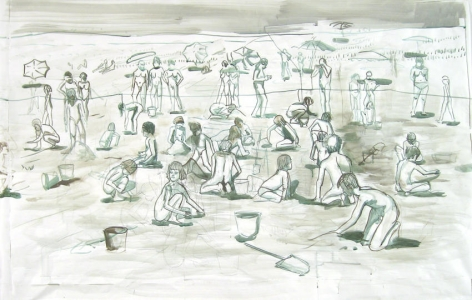 "Drawing for ""Sand"" II"