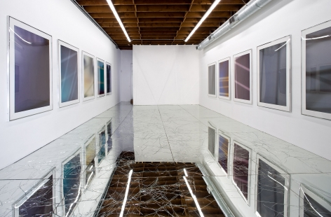 Walead Beshty, Untitled (Petzel Gallery, Art Dealers Association of America Art Show, Park Avenue Armory: New York, New York, February 26–March 1, 2020)