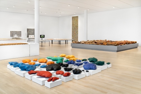 Allan McCollum: Works since 1969, ICA Miami, 2020, Installation view
