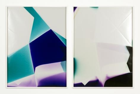 Walead Beshty, Three Sided Mirrored Pair (CBM), January 10, 2007, Santa Clarita, California, Fujicolor Crystal Archive