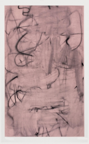 Christopher Wool Three Women (Image III – dark rose)