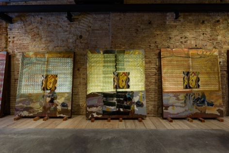 Display – between art and arts & crafts, Applied Arts Pavilion at the Sale d´Armi, Venice Biennale, 2017, Installation view
