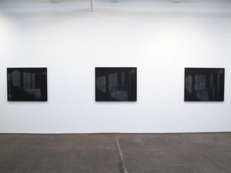 Troy Brauntuch Installation view