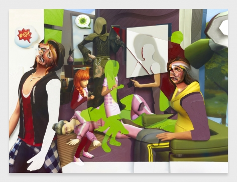 Pieter Schoolwerth, Shifted Sims #13 (Covid-19 Expansion Pack)
