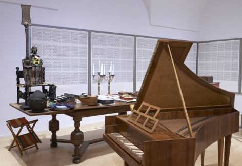 The Order of Time and Things. The Home Studio of Hanne Darboven, Installation view, Museo Nacional Centro de Arte Reina Sofía, Madrid, 2014