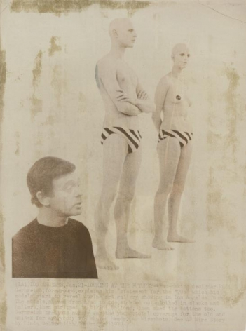 Rudi Gernreich Designs for Unisex Bathing Suits