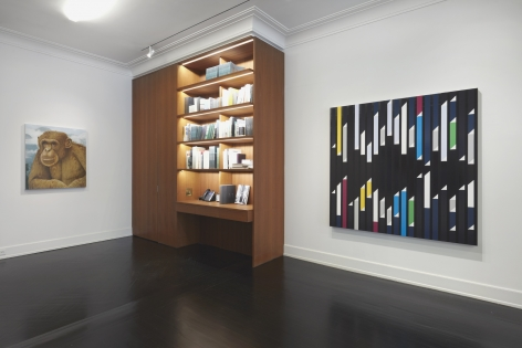 Curated Selection, Installation view