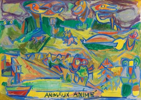 Animaux animé(s) (Animated Animals) (recto)