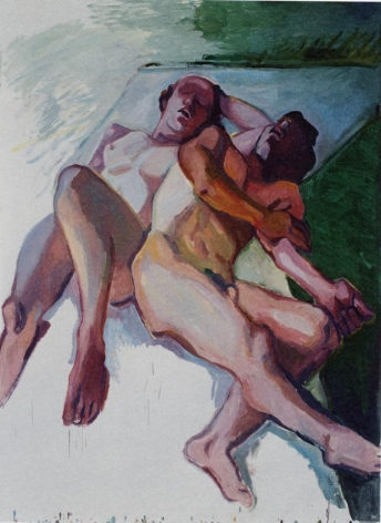 Schlafende/Sleepers 2009 Oil on canvas