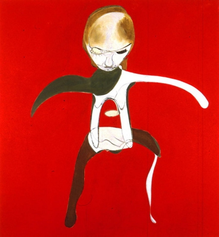 Red Self-Portrait 1996