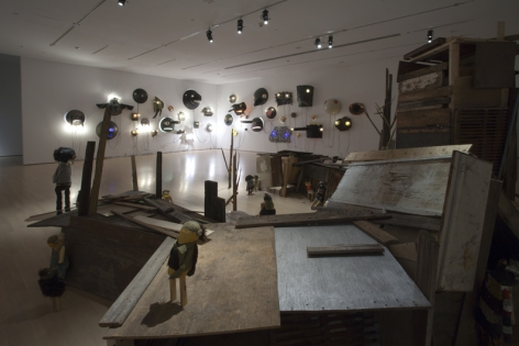 Jon Pylypchuck,Musée d'art contemporain de Montréal, 2010, Installation view