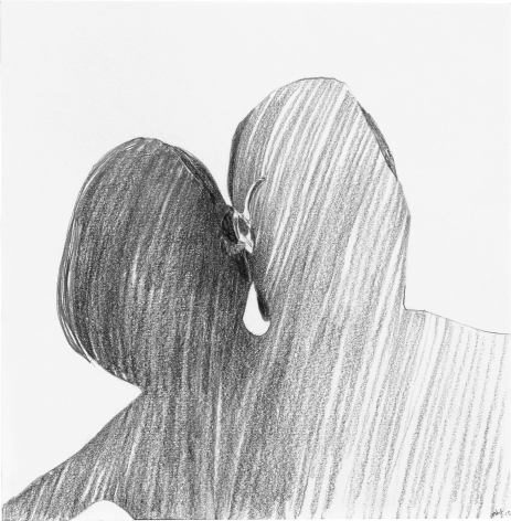 Snog 2015 Graphite on paper