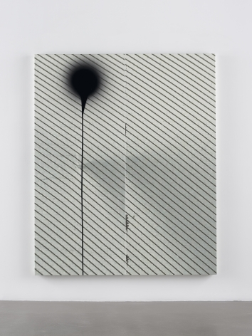 Wade Guyton &Stephen Prina, Wade Guyton, Untitled, 2018, Epson UltraChrome HDX inkjet on linen