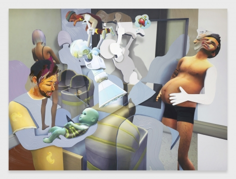 Pieter Schoolwerth, Shifted Sims #10 (Male Pregnancy Mod)