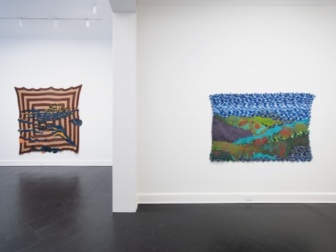 Recirculating Goods, Petzel Gallery, 2020, Installation view