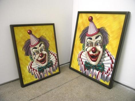 Bremen Towne - Clown Diptych 1967, 2007