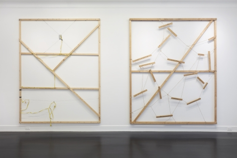 Georg Herold, Petzel Gallery, 2019, Installation view
