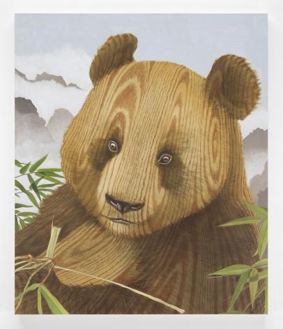 SEAN LANDERS Wood Panda 2020