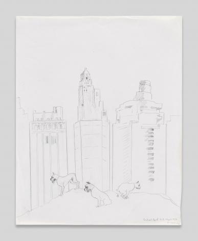 Maria Lassnig, Central Park N.Y.