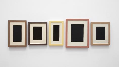 Allan McCollum, Collection of Five Plaster Surrogates