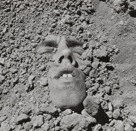 David Wojnarowicz, Untitled (Face in Dirt)